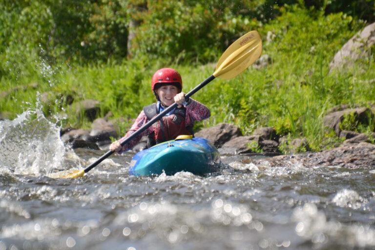 Adult Beginner Ottawa Kayak School Wilderness Tours National Whitewater Park Kayaking