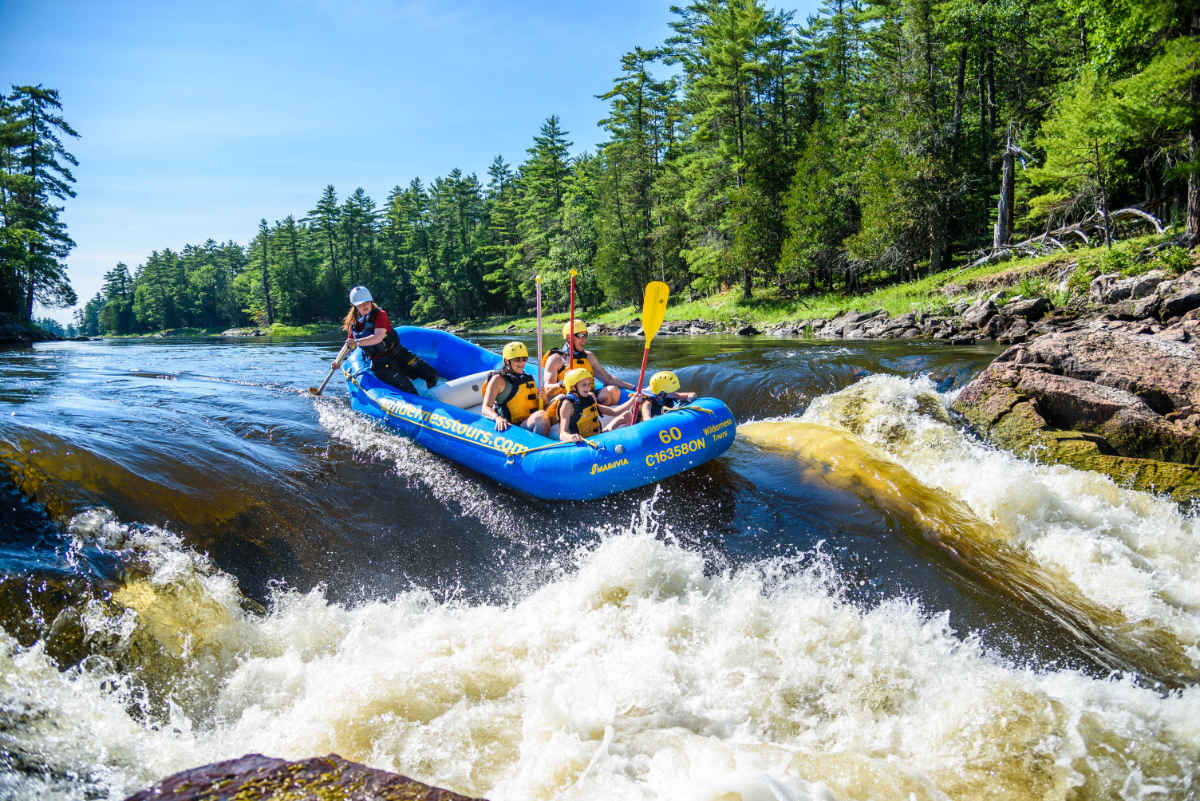 Gentle Family Rafting Wilderness Tours Canada Ontario Ottawa National Whitewater Park