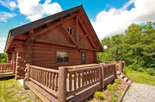 Log Cabin Cottage Rental on the Ottawa River (2)