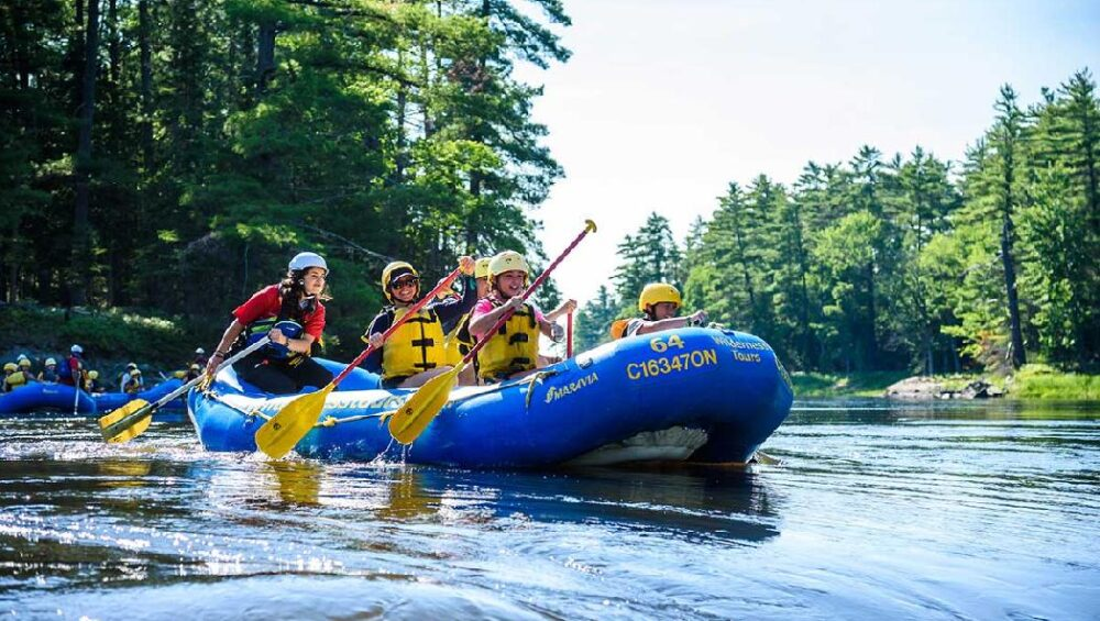 Gentle Rafting on the Ottawa River July 2020