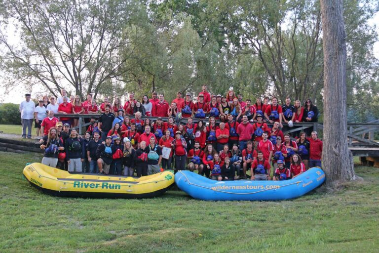 2017 Wilderness Tours and River Run Rafting Staff