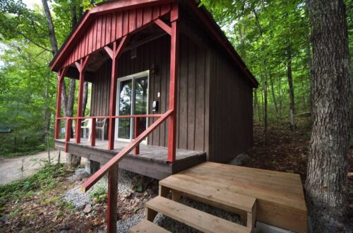 Bay Side Lodging Unit at Wilderness Tours