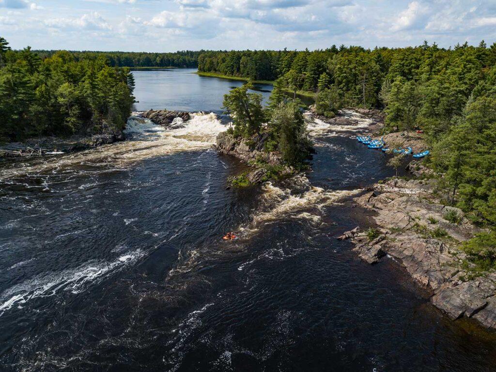 Garvin's Chute on the Ottawa River