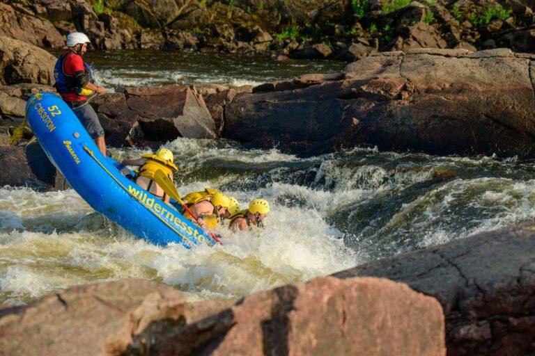 Whitewater Rafting Fun on the Ottawa River Wilderness Tours