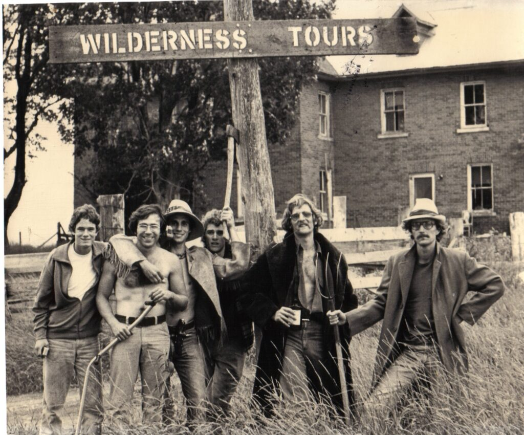 Wilderness Tours Guide Staff 1976