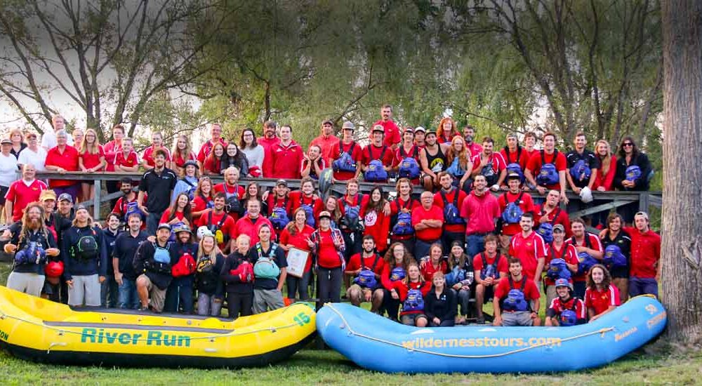 About Us Team Photo Wilderness Tours Staff RiverRun Rafting