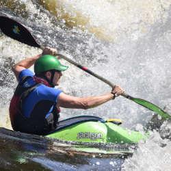 Adult Intermediate Ottawa Kayak School Wilderness Tours National Whitewater Park Whitewater Kayaking