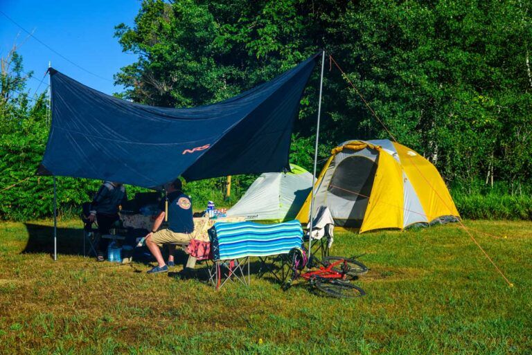 Camping at Wilderness Tours at the National Whitewater Park