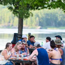 Dinner National Whitewater Park Ottawa Ontario Canada Rafting Wilderness Tours