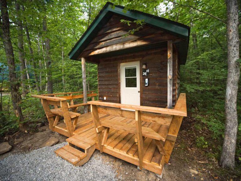 Hillside Cabin Rental at Wilderness Tours