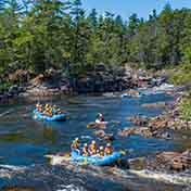 Itinerary Guide Your Own Raft Iron Ring Middle Channel
