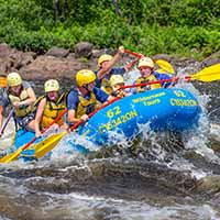 Itinerary Guide Your Own Raft Middle Channel More Rapids