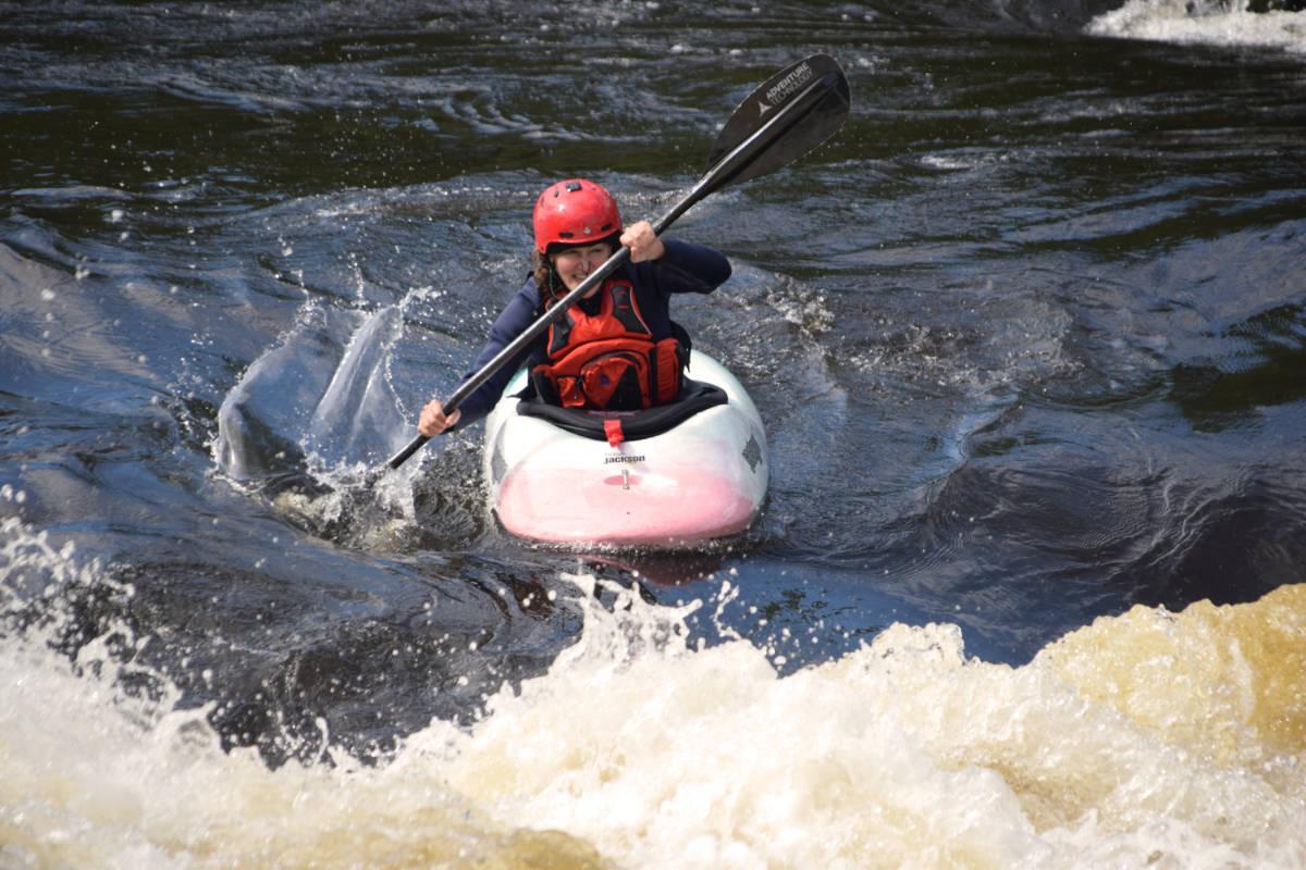 Private Instruction Ottawa Kayak School Kayaking Wilderness Tours National Whitewater Park