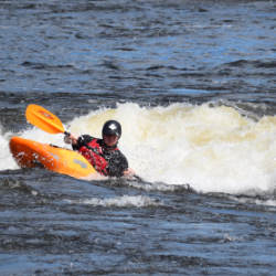 Teen Kayak Camp Surfing Ottawa Kayak School National Whitewater Park Wilderness Tours
