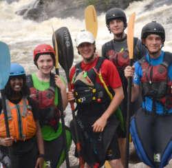 Teen Week Instructor Ottawa Kayak School Wilderness Tours Canada National Whitewater Park