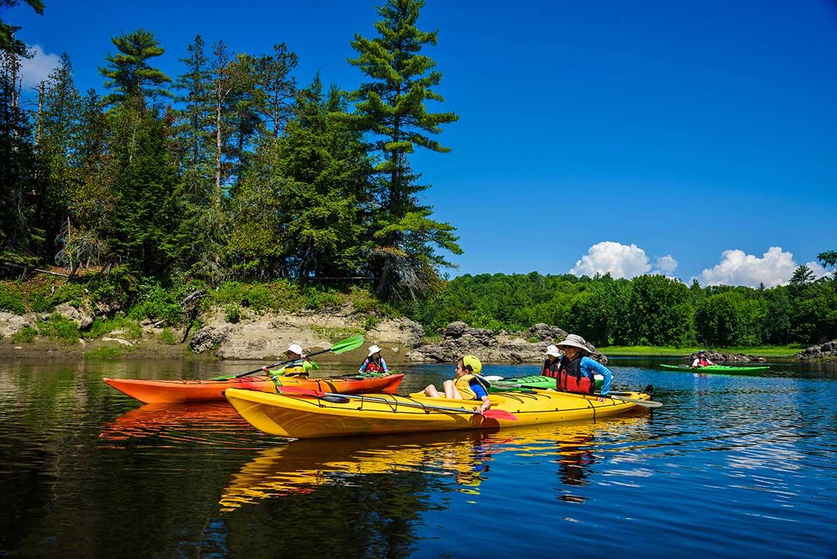 Wilderness Tours Day Sea Kayak Trip Ottawa