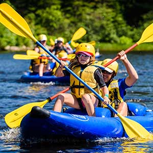 Raft n Rod Family Adventure at Wilderness Tours Ottawa River National Whitewater Park