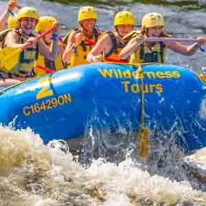 whitewater rafting ottawa river