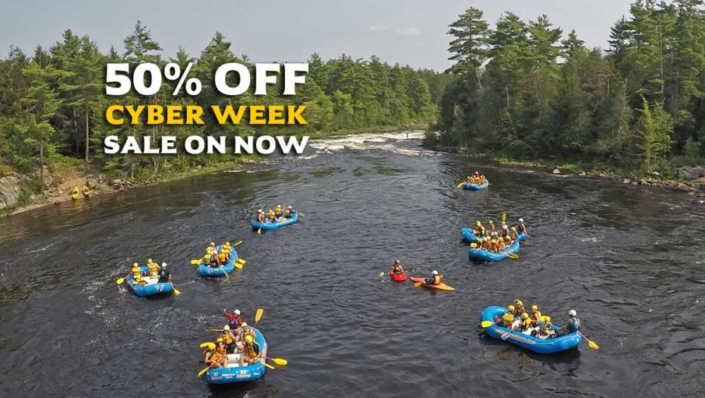 Wilderness Tours Ottawa River Cyber Week Sale 2020