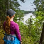 Hiking the National Whitewater Park at Wilderness Tours