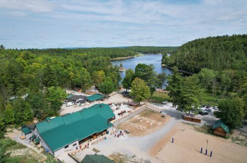Rafter Pavilion Wilderness Tours Ontario Canada Ottawa River Rafting
