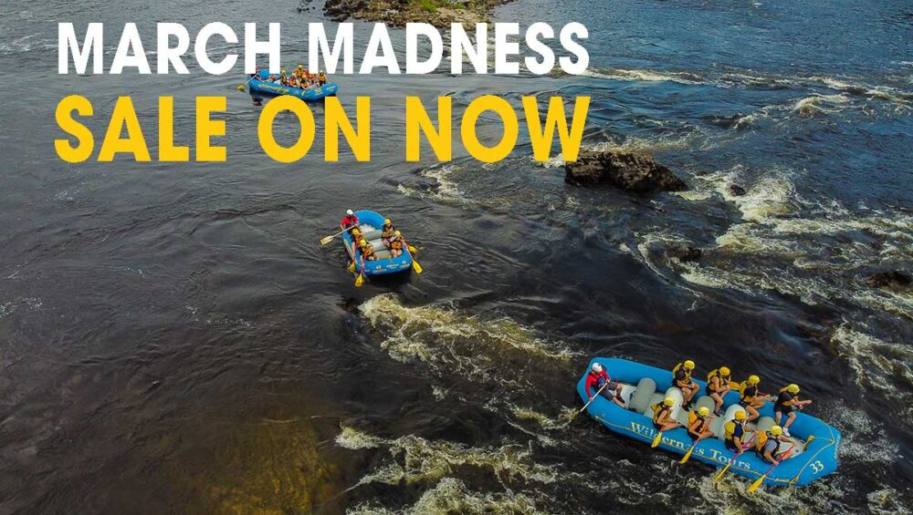 March Madness Sale at Wilderness Tours