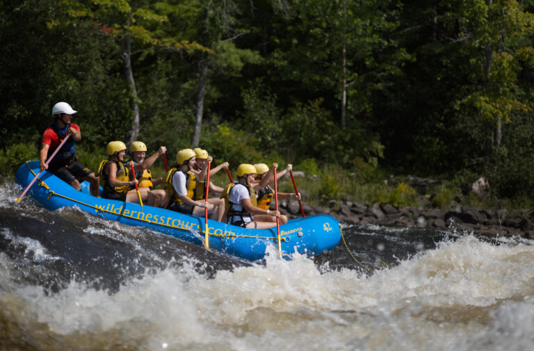 Rafting Wilderness Tours National Whitewater Park Middle Channel Adventure Ontario Canada Ottawa River