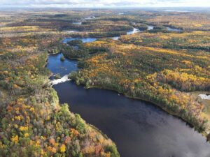 Fall Colors on the Ottawa River